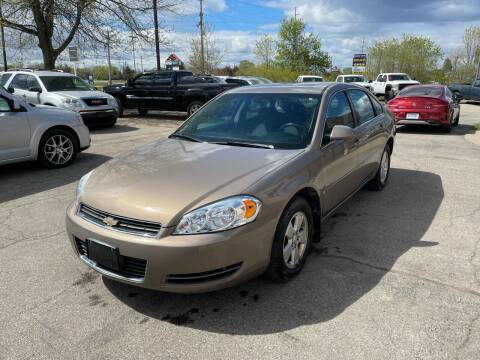 2007 Chevrolet Impala for sale at Dean's Auto Sales in Flint MI