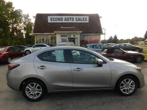 2016 Scion iA for sale at Econo Auto Sales Inc in Raleigh NC