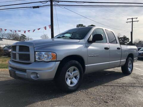 2002 Dodge Ram Pickup 1500 for sale at Mega Autosports in Chesapeake VA