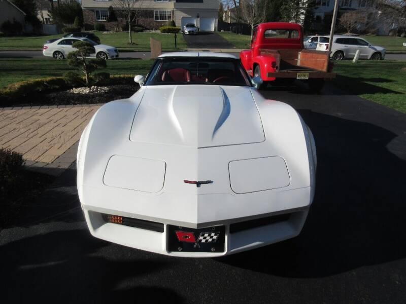 1981 Chevrolet Corvette for sale at Island Classics & Customs in Staten Island NY