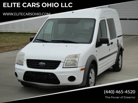 2012 Ford Transit Connect for sale at ELITE CARS OHIO LLC in Solon OH
