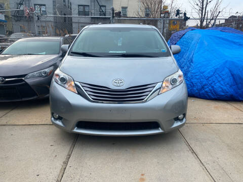 2016 Toyota Sienna for sale at Luxury 1 Auto Sales Inc in Brooklyn NY