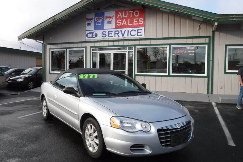 2004 Chrysler Sebring for sale at 777 Auto Sales and Service in Tacoma WA