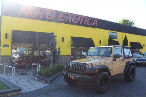 2013 Jeep Wrangler for sale at Auto Exotica in Red Bank NJ