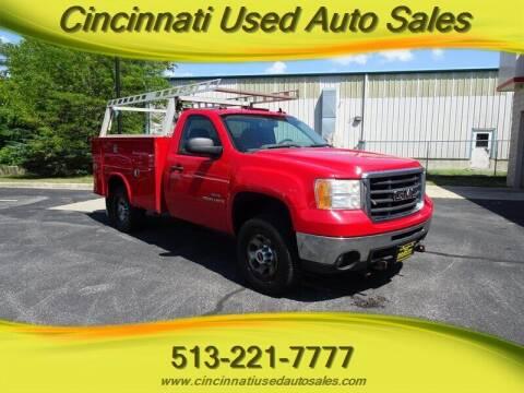 2009 GMC Sierra 3500HD for sale at Cincinnati Used Auto Sales in Cincinnati OH