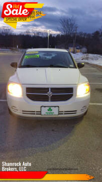2008 Dodge Caliber for sale at Shamrock Auto Brokers, LLC in Belmont NH