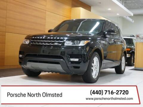 2015 Land Rover Range Rover Sport for sale at Porsche North Olmsted in North Olmsted OH