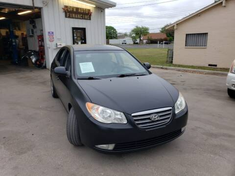 2008 Hyundai Elantra for sale at DFW AUTO FINANCING LLC in Dallas TX