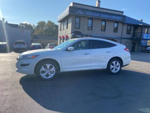 2012 Honda Crosstour for sale at Sisson Pre-Owned in Uniontown PA
