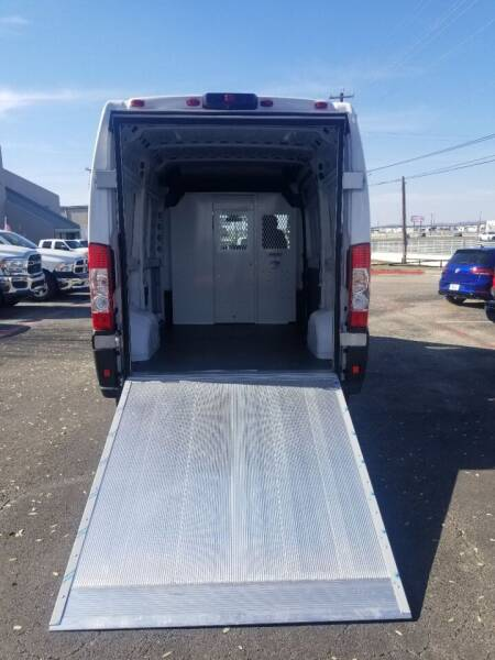 2021 RAM ProMaster Cargo for sale at ON THE MOVE INC in Boerne TX