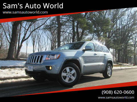 2012 Jeep Grand Cherokee for sale at Sam's Auto World in Roselle NJ