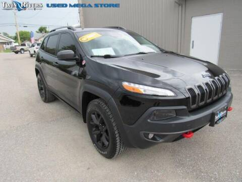 2017 Jeep Cherokee for sale at TWIN RIVERS CHRYSLER JEEP DODGE RAM in Beatrice NE