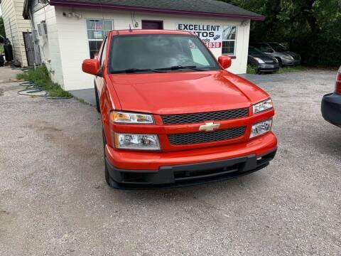 2012 Chevrolet Colorado for sale at Excellent Autos of Orlando in Orlando FL