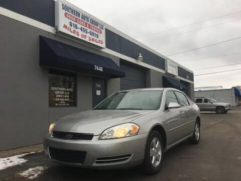 2008 Chevrolet Impala for sale at SOUTHERN AUTO GROUP, LLC in Grand Rapids MI
