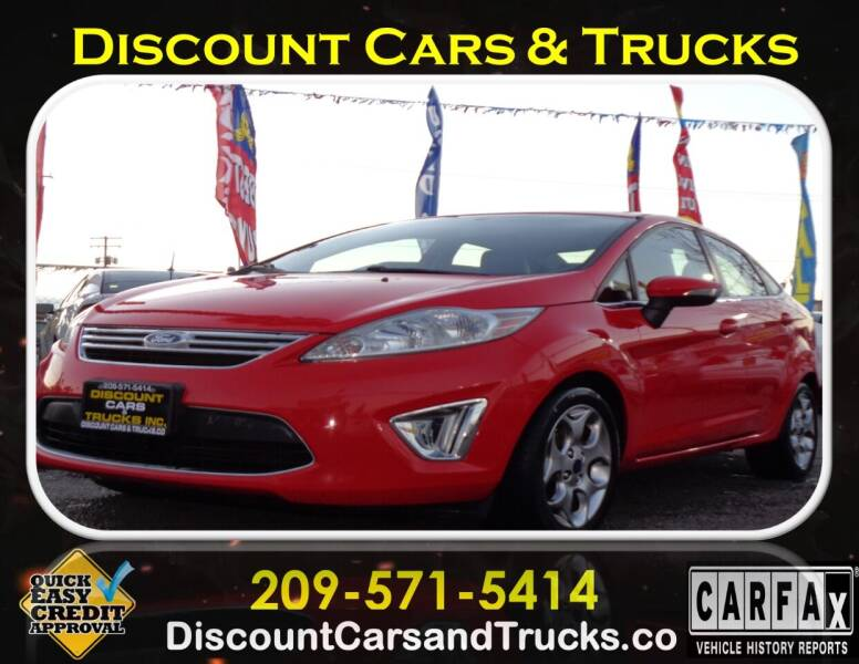 2012 Ford Fiesta for sale at Discount Cars & Trucks in Modesto CA