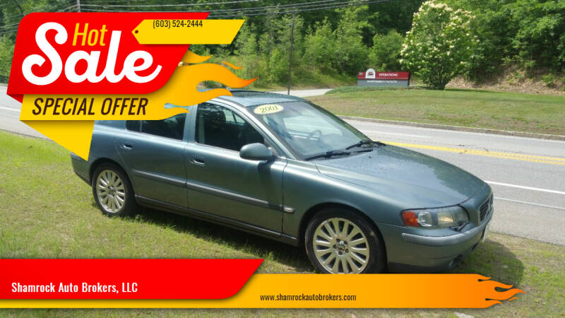 2001 Volvo S60 for sale at Shamrock Auto Brokers, LLC in Belmont NH