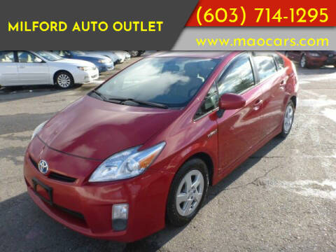 2010 Toyota Prius for sale at Milford Auto Outlet in Milford NH