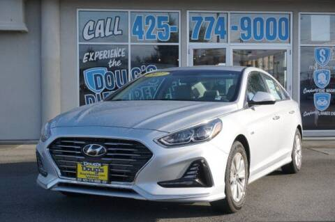 2019 Hyundai Sonata Hybrid for sale at Jeremy Sells Hyundai in Edmunds WA