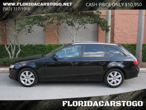 2011 Audi A4 for sale at FLORIDACARSTOGO in West Palm Beach FL