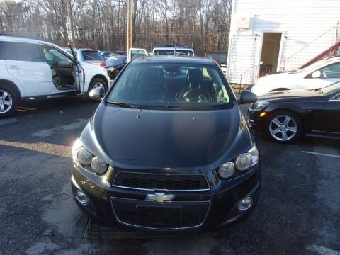 2013 Chevrolet Sonic for sale at Balic Autos Inc in Lanham MD
