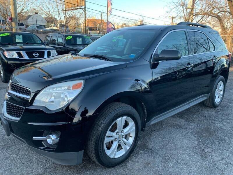 2012 Chevrolet Equinox for sale at TD MOTOR LEASING LLC in Staten Island NY