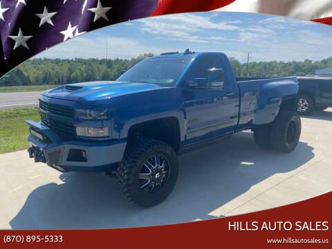 2016 Chevrolet Silverado 3500HD for sale at Hills Auto Sales in Salem AR