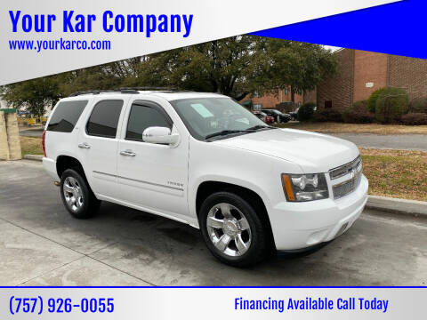 2010 Chevrolet Tahoe for sale at Your Kar Company in Norfolk VA