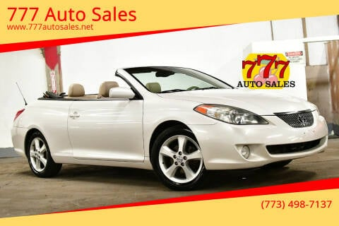 2004 Toyota Camry Solara for sale at 777 Auto Sales in Bedford Park IL