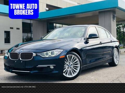 2013 BMW 3 Series for sale at TOWNE AUTO BROKERS in Virginia Beach VA