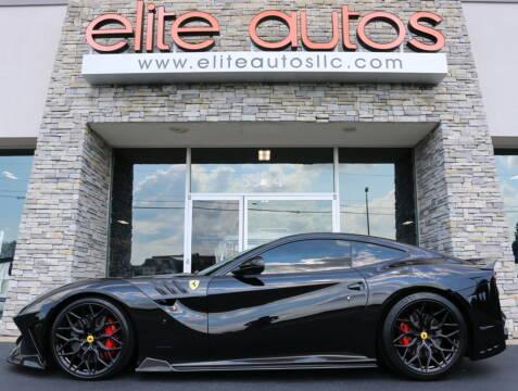 2017 Ferrari F12berlinetta for sale at Elite Autos LLC in Jonesboro AR