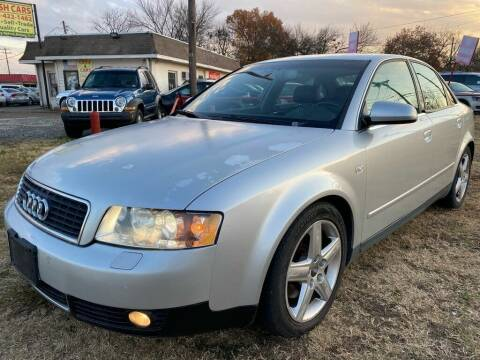 2004 Audi A4 for sale at Texas Select Autos LLC in Mckinney TX