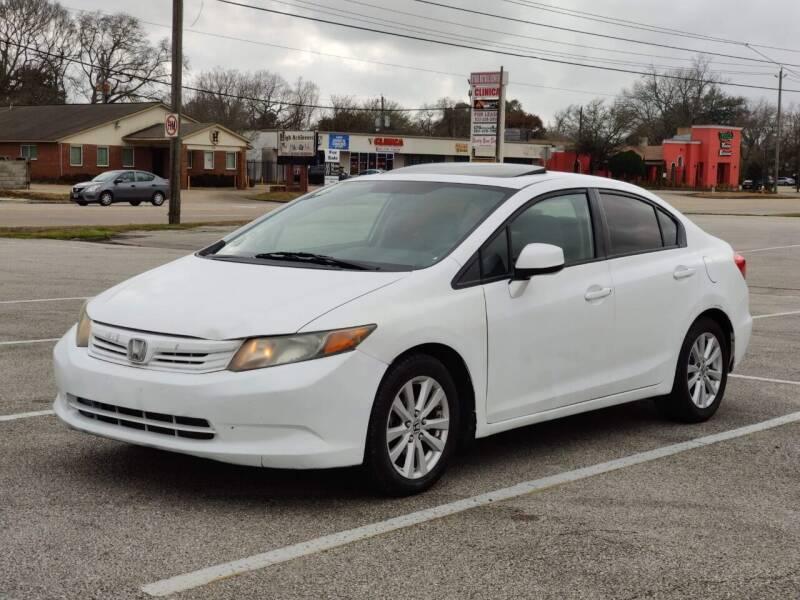 2012 Honda Civic for sale at Loco Motors in La Porte TX