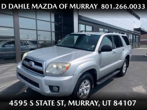 2007 Toyota 4Runner for sale at D DAHLE MAZDA OF MURRAY in Salt Lake City UT