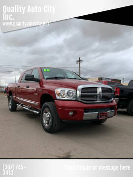 2008 Dodge Ram Pickup 1500 for sale at Quality Auto City Inc. in Laramie WY