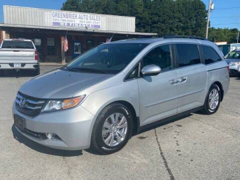 2014 Honda Odyssey for sale at Greenbrier Auto Sales in Greenbrier AR