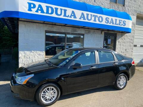 2010 Ford Focus for sale at Padula Auto Sales in Braintree MA