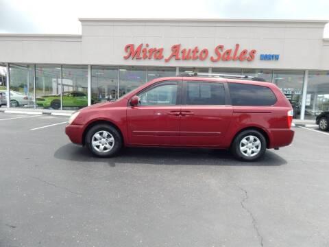 2007 Kia Sedona for sale at Mira Auto Sales in Dayton OH