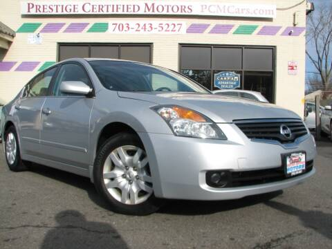 2009 Nissan Altima for sale at Prestige Certified Motors in Falls Church VA