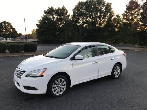 2015 Nissan Sentra for sale at SMZ Auto Import in Roswell GA