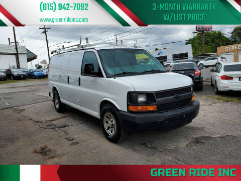 2014 Chevrolet Express Cargo for sale at Green Ride Inc in Nashville TN