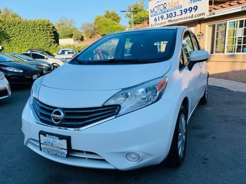 2015 Nissan Versa Note for sale at MotorMax in Lemon Grove CA