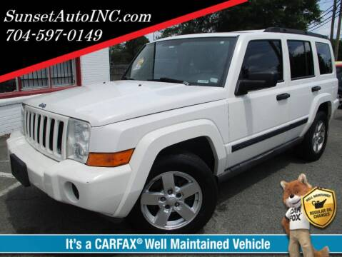 2006 Jeep Commander for sale at Sunset Auto in Charlotte NC