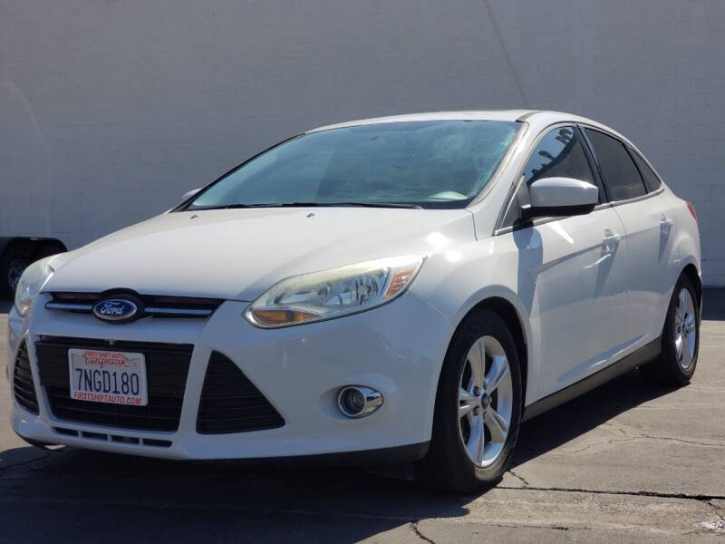 2012 Ford Focus for sale at First Shift Auto in Ontario CA