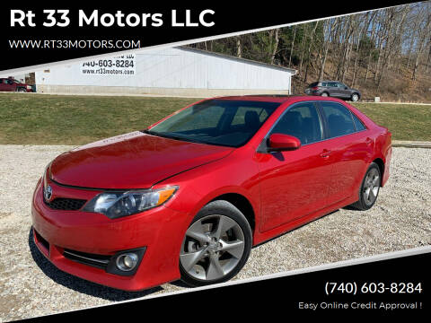 2012 Toyota Camry for sale at Rt 33 Motors LLC in Rockbridge OH