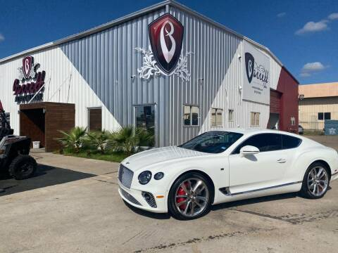 2020 Bentley Continental for sale at Barrett Auto Gallery in San Juan TX