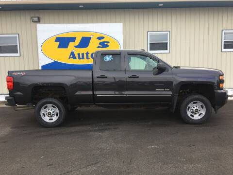 2015 Chevrolet Silverado 2500HD for sale at TJ's Auto in Wisconsin Rapids WI