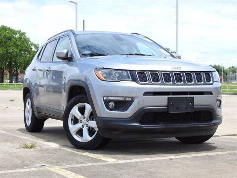 2018 Jeep Compass for sale at Joe Myers Toyota PreOwned in Houston TX