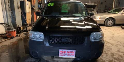 2005 Ford Escape for sale at Frank's Garage in Linden NJ