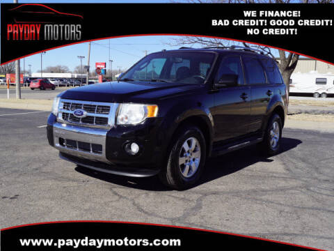 2012 Ford Escape for sale at Payday Motors in Wichita And Topeka KS