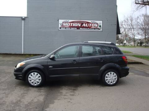 2005 Pontiac Vibe for sale at Motion Autos in Longview WA